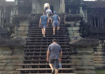 Temple trekking