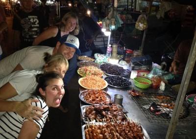 Phnom Penh roving food tour.