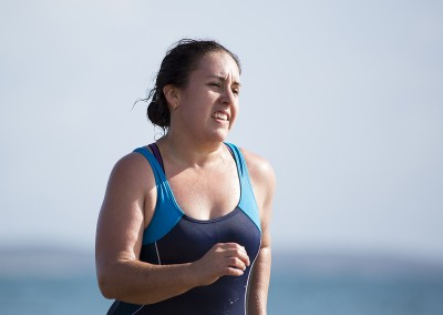 Emmah Whiting takes on the Ocean Earth Challenge in 2014.
