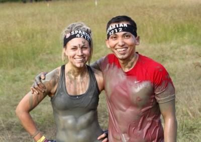 Hera and Tono complete the Brisbane Spartan Sprint in May 2015