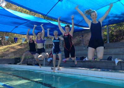 Horray for Swim-Cross! The best acquatic workout around.
